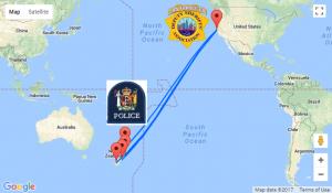 San Francisco Sheriffs Challenge New Zealand Police
