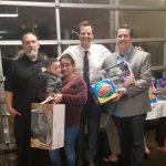 Toy Give Away Sheriffs and Matt Haney